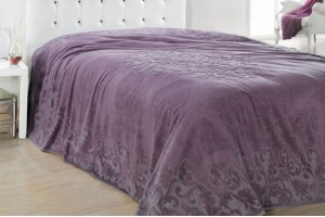 Покрывало Issimo Home Ravenna purple 501011