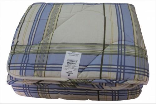 Одеяло Merkys Клетка сиреневая 3МВ4