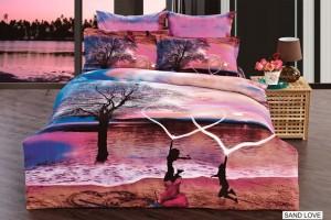 Постельное белье Arya Exclusive Sand Love 3D 1001545/m005915