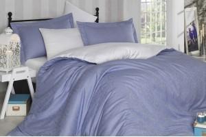 Постельное белье HOBBY Exclusive Diamond Damask blue-cream 118164
