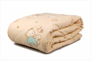 Детское одеяло Баю Бай Малыш бежевый 82502