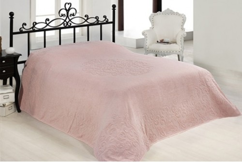 Покрывало Issimo Home Ravenna pink 501010