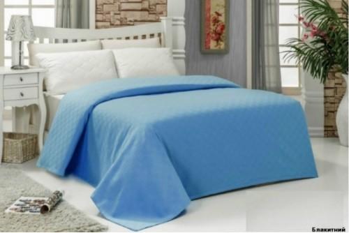 Покрывало Arya Пике Dama blue TR1001516