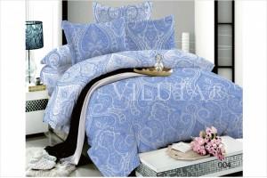 Постельное белье Вилюта Дамаск синий 004