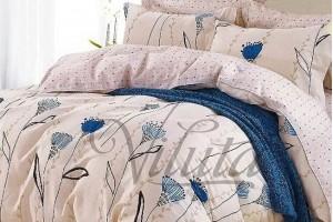 Постельное белье Вилюта Твил Синий цветок 197