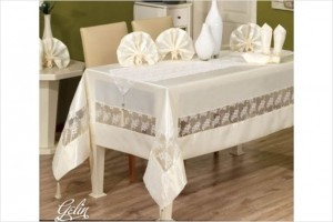 Скатерть Finezza Gelin white 1550229