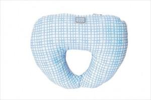 Подушка Прованс Andre Tan голубая клетка 000185